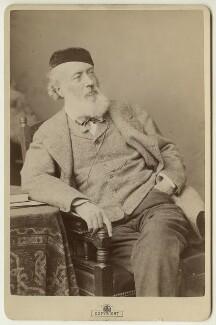 Sir John Gilbert, by Alexander Bassano - NPG x13181