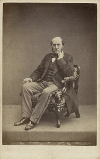 Sir George Gilbert Scott Sr, by John & Charles Watkins, published by  Mason & Co (Robert Hindry Mason) - NPG x45088