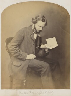 William Thomson, Baron Kelvin, by Unknown photographer, 1850s - NPG P1123 - © National Portrait Gallery, London