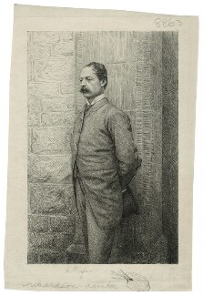 Sir William Quiller Orchardson, by Augustin Mongin, circa 1882 - NPG D21527 - © National Portrait Gallery, London