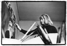 Pauline Boty, by Michael Seymour, 1963 - NPG x88176 - © Michael Seymour