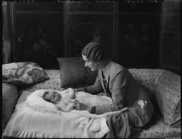 (Merilyn) Mary Thorold (née Reynolds); (Eleanor) Constance (née Holford), Lady Reynolds, by Bassano Ltd - NPG x151357