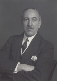 Sir Edward Taswell Campbell, 1st Bt, by Walter Stoneman - NPG x166361
