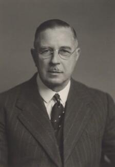 Sir George Riddoch Campbell, by Walter Stoneman - NPG x166362