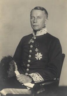 Sir Gerald Campbell, by Walter Stoneman - NPG x29732