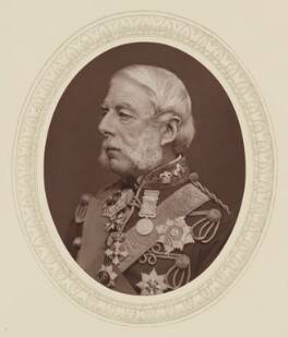 Richard Airey, 1st Baron Airey, by Lock & Whitfield, published by  Sampson Low, Marston, Searle and Rivington, published 1878 - NPG Ax17554 - © National Portrait Gallery, London