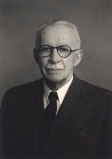 Sir Gerald Campbell, by Walter Stoneman - NPG x166363
