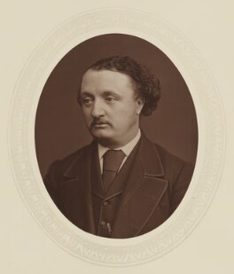 Sir John Stainer, by Lock & Whitfield, published by  Sampson Low, Marston, Searle and Rivington - NPG Ax17577