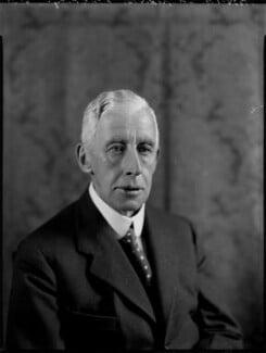 Frederick Edward Grey ('Fritz') Ponsonby, 1st Baron Sysonby, by Bassano Ltd - NPG x151385
