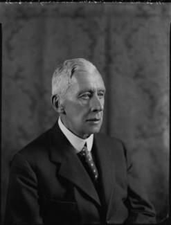 Frederick Edward Grey ('Fritz') Ponsonby, 1st Baron Sysonby, by Bassano Ltd - NPG x151386