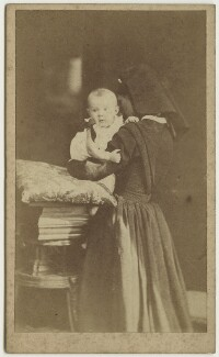 Gerald Duckworth; Julia Prinsep Stephen (née Jackson, formerly Mrs Duckworth), by Oscar Gustav Rejlander - NPG x128763
