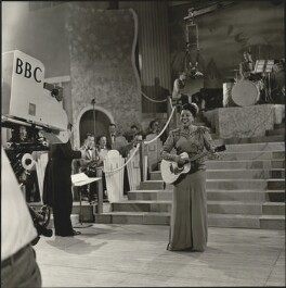 Adelaide Hall, by Unknown photographer, for  BBC - NPG x128771
