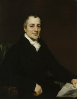 David Ricardo, by Thomas Phillips, circa 1821 - NPG L241 - On loan to the National Portrait Gallery, London