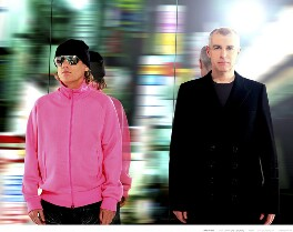 Pet Shop Boys (Chris Lowe; Neil Tennant), by Ripley & Ripley - NPG x128774