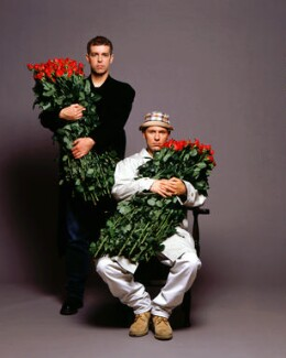Pet Shop Boys (Neil Tennant; Chris Lowe), by Eric Watson - NPG x128777