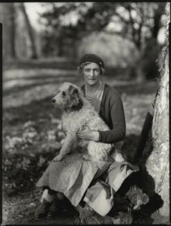 Lady Muriel Beatrice Beckwith (née Gordon-Lennox, later Lady Jones), by Bassano Ltd - NPG x151397