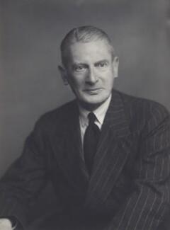 Sir (Frederick) Bernard Carr, by Walter Stoneman - NPG x166395
