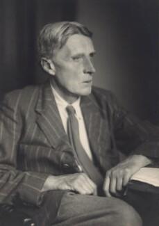 Edgar Frederick Carritt, by Walter Stoneman - NPG x166404