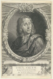 John Smith, possibly by Peter Vanderbank (Vandrebanc), possibly after  William Faithorne - NPG D22950