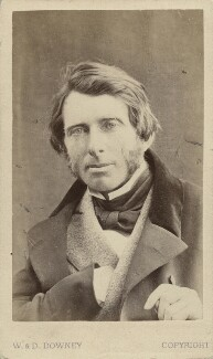 John Ruskin, by W. & D. Downey - NPG x12958
