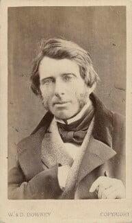 John Ruskin, by W. & D. Downey, 29 June 1863 - NPG x12958 - © National Portrait Gallery, London