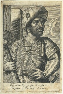 Mulai Al-Rashid, by William Faithorne - NPG D22953