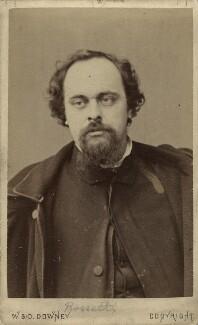 Dante Gabriel Rossetti, by W. & D. Downey - NPG x45950