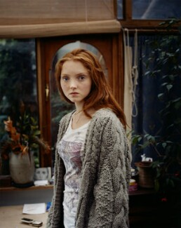 Lily Cole, by Emma Hardy - NPG x128783