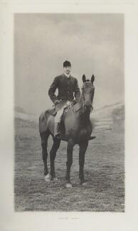 George Edmund Milnes Monckton-Arundell, 7th Viscount Galway, by Ernest Clarence Elliott, for  Elliott & Fry - NPG Ax39968