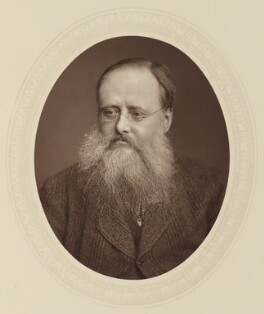 Wilkie Collins, by Lock & Whitfield, published by  Sampson Low, Marston, Searle and Rivington, published 1881 - NPG Ax17631 - © National Portrait Gallery, London