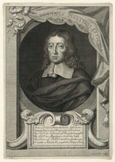 John Milton, by George Vertue, after  William Faithorne, published 1720 - NPG D23543 - © National Portrait Gallery, London