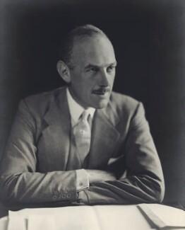Oliver Lyttelton, 1st Viscount Chandos, by Walter Stoneman - NPG x8383