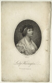 Jane Stanhope (née Fleming), Countess of Harrington, by Mackenzie, after  Sir Joshua Reynolds - NPG D23520