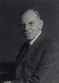 Sir David Thomas Chadwick, by Walter Stoneman - NPG x166497