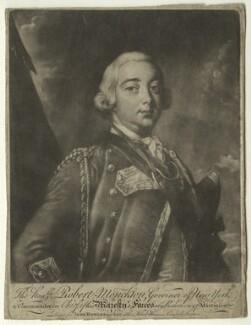 Robert Monckton, printed for John Bowles, printed for  Carington Bowles, after  Thomas Hudson - NPG D23527