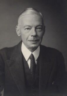 Sir (Harry) Owen Chalkley, by Walter Stoneman - NPG x166503