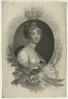 Elizabeth, Empress of Russia, by Mackenzie, after  William Marshall Craig - NPG D23530