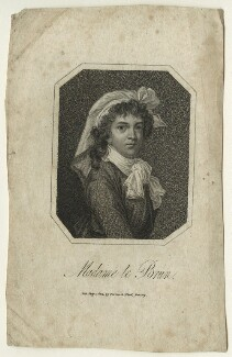 Elisabeth-Louise Vigée-Le Brun, published by Vernor & Hood, after  Elisabeth-Louise Vigée-Le Brun - NPG D23534