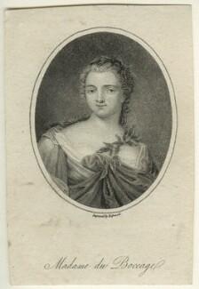 Anne-Marie Fiquet du Boccage, by James Hopwood Sr - NPG D23535