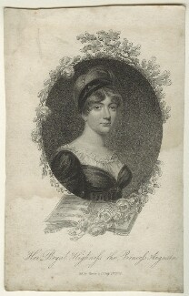 Princess Augusta Sophia, by K. Mackenzie, published by  Vernor, Hood & Sharpe, after  William Marshall Craig - NPG D23536