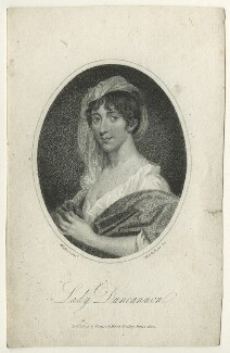 Henrietta Frances ('Harriet') Ponsonby (née Spencer), Countess of Bessborough, by Mackenzie, published by  Vernor & Hood, after  Walker - NPG D23537