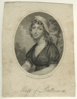 Mary Robinson, by Mackenzie, after  William Mineard Bennett - NPG D23538