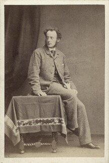 Sir John Everett Millais, 1st Bt, by John & Charles Watkins, early 1860s - NPG x6277 - © National Portrait Gallery, London