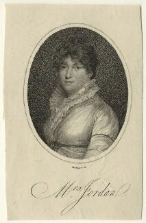Dorothy Jordan, by Mackenzie, published 1805 - NPG D23541 - © National Portrait Gallery, London