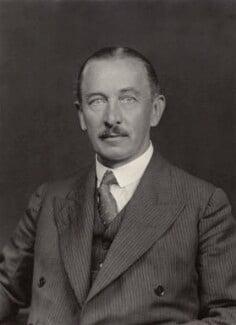 Aretas Akers-Douglas, 2nd Viscount Chilston, by Walter Stoneman - NPG x166534