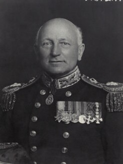 Francis George Gillilan Chilton, by Walter Stoneman - NPG x166535
