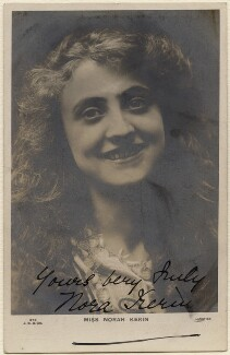 Nora Kerin, by Langfier Ltd, printed by  J. Beagles & Co - NPG x19125