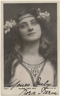 Nora Kerin as Miranda in 'The Tempest', by Lizzie Caswall Smith, published by  Rotary Photographic Co Ltd - NPG x19123