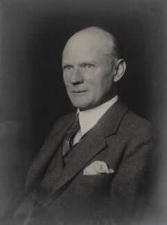 Sir George William Chrystal, by Walter Stoneman - NPG x166543