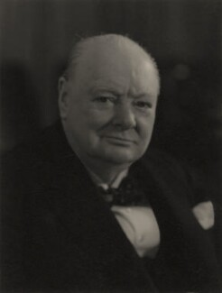 Winston Churchill, by Walter Stoneman - NPG x166547